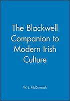 The Blackwell companion to modern Irish culture