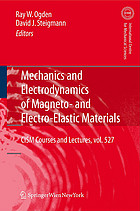 Mechanics and electrodynamics of magneto-and electro-elastic materials