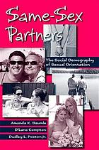 Same-sex partners : the demography of sexual orientation