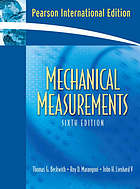 Mechanical measurements.