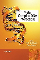Metal complex-DNA interactions