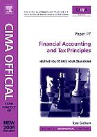 Financial accounting and tax principles.