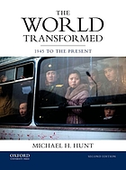 The world transformed : 1945 to the present
