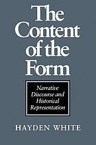 The content of the form : narrative discourse and historical representation