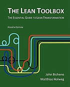 The Lean toolbox : the essential guide to Lean transformation