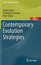 Contemporary evolution strategies