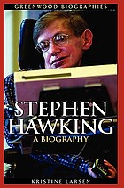 Stephen Hawking : a biography