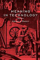 Meaning in technology