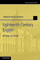 Eighteenth-century English : ideology and change