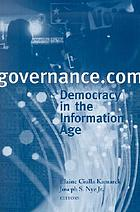 Governance.com : democracy in the information age