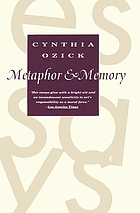 Metaphor & memory : essays