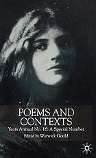 Poems and contexts
