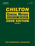 Chilton General Motors service manual [2010-2011].