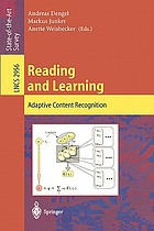 Reading and learning : adaptive content recognition