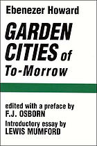 Garden cities of to-morrow.