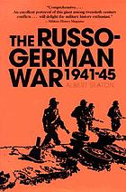 The Russo-German War, 1941-45