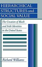 Hierarchical structures and social value : the creation of Black and Irish identities in the United States
