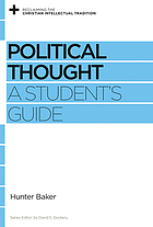 Political thought : a student's guide