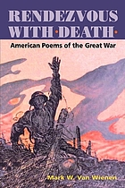 Rendezvous with death : American poems of the Great War