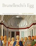 Brunelleschi's egg : nature, art, and gender in Renaissance Italy