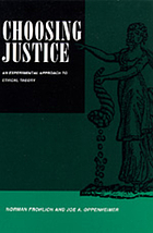 Choosing justice : an experimental approach to ethical theory