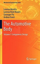 The automotive body. Volume I, Components design