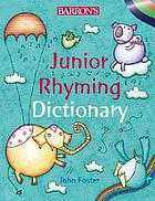 Barron's junior rhyming dictionary