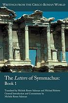 The letters of Symmachus. Book 1