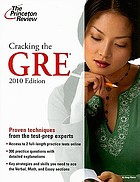 Cracking the GRE 2010.