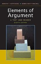 Elements of argument : a text and reader