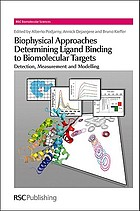 Biophysical approaches determining ligand binding to biomolecular targets