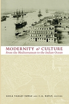 Modernity and culture : from the Mediterranean to the Indian Ocean
