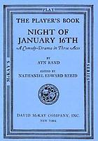 Night of January 16th : a comedy-drama in three acts