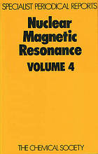 Nuclear magnetic resonance : Volume 4.