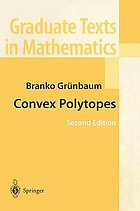 Convex polytopes