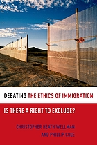 Debating the ethics of immigration : is there a right to exclude?