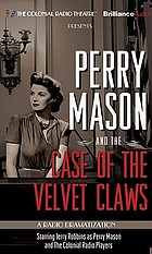 Perry Mason and the case of the velvet claws.