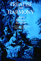 Treatise on harmony.