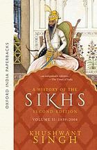 A history of the Sikhs