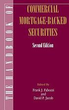The handbook of commercial mortgage-backed securities
