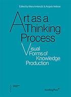 Art as a thinking process : visual forms of knowledge production