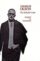 Charles Olson : the scholar's art