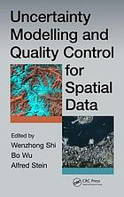 Uncertainty modelling and quality control for spatial data