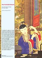 The forbidden empire : visions of the world by Chinese and Flemish masters