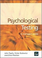 Psychological testing : a manager's guide