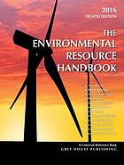 The Environmental resource handbook 2015/16.