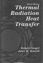 Thermal radiation heat transfer.