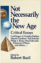 Not necessarily the New Age : critical essays