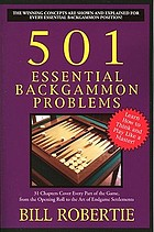 501 essential backgammon problems