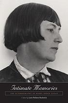 Intimate memories : the autobiography of Mabel Dodge Luhan
